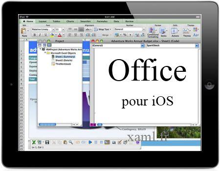 Office pour iOS et iPad